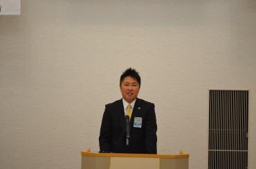 2014年度理事長候補者 山田 洋一君